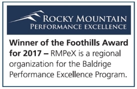 CCH Rocky Mountain Performance Excellence Foothills Level Award